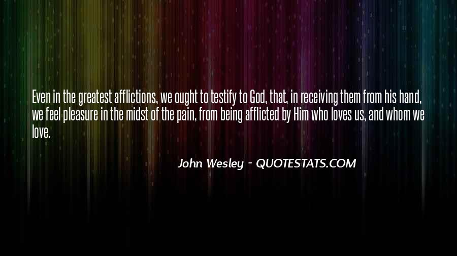 John Wesley Quotes #221159