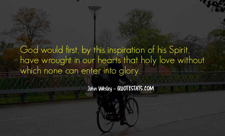 John Wesley Quotes #383312