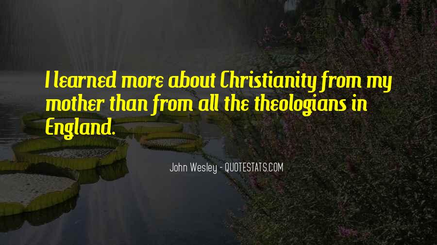 John Wesley Quotes #383618