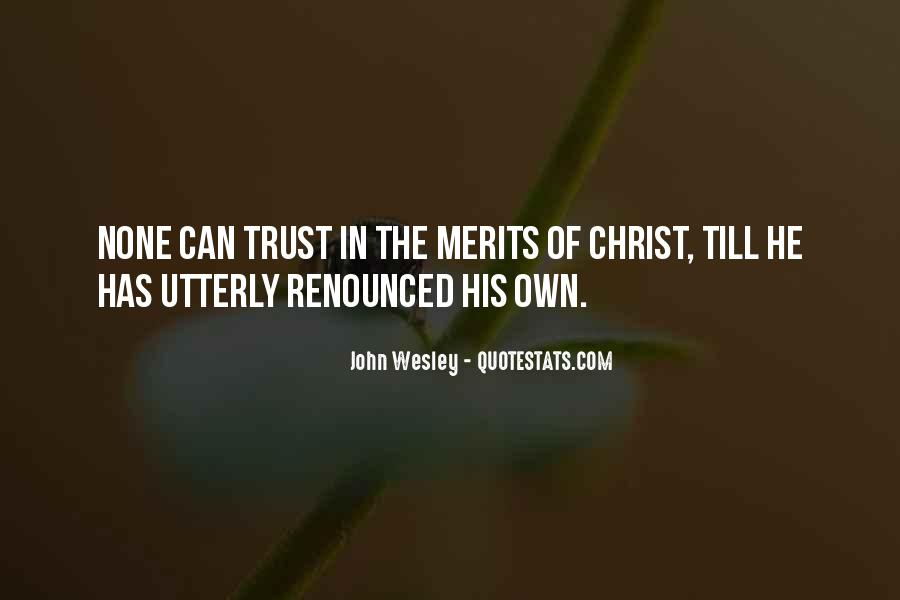 John Wesley Quotes #69189