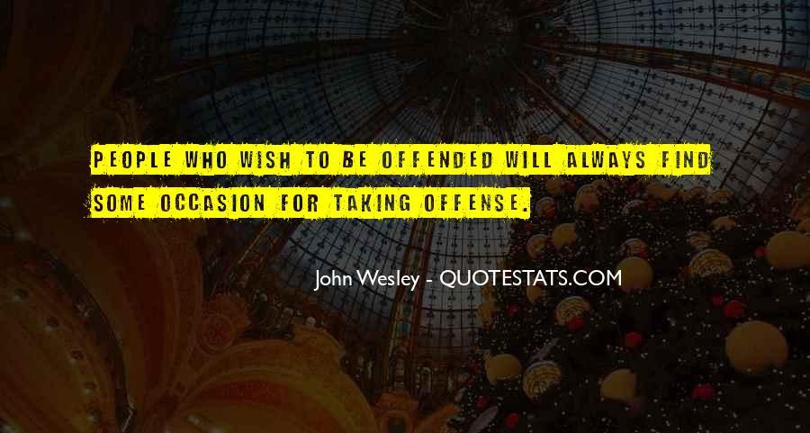 John Wesley Quotes #892978