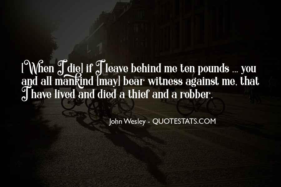 John Wesley Quotes #911983