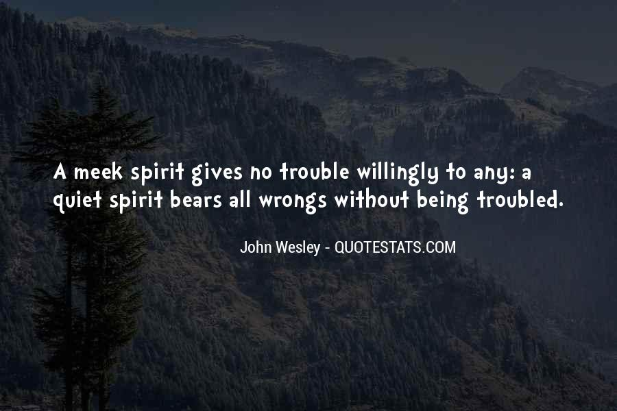 John Wesley Quotes #933359