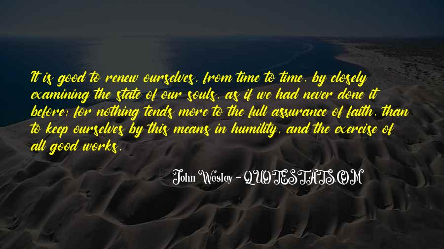 John Wesley Quotes #951746