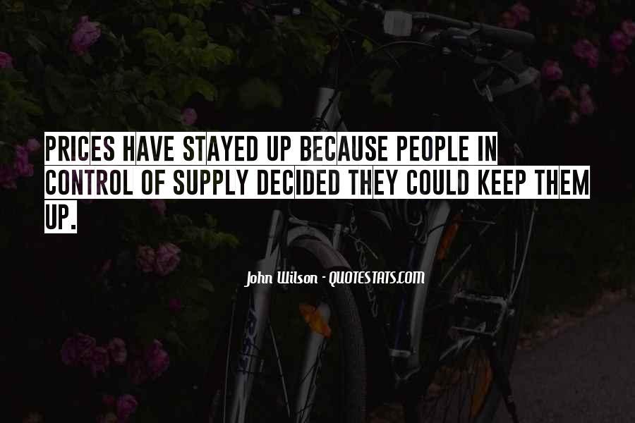 John Wilson Quotes #1092585
