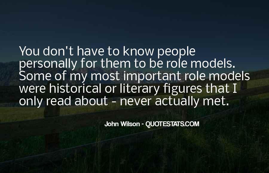 John Wilson Quotes #1229485