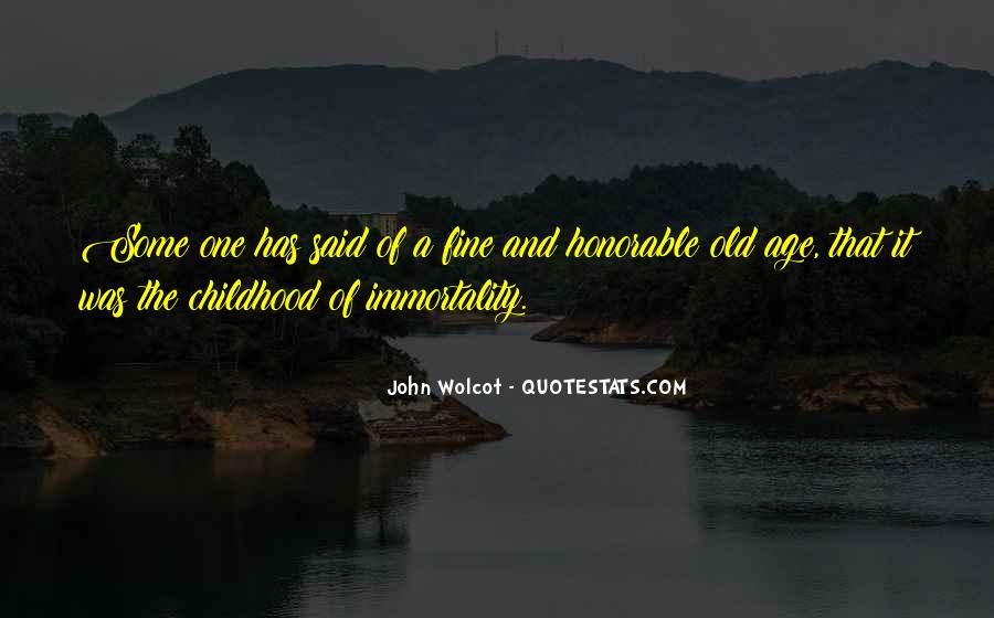 John Wolcot Quotes #268108