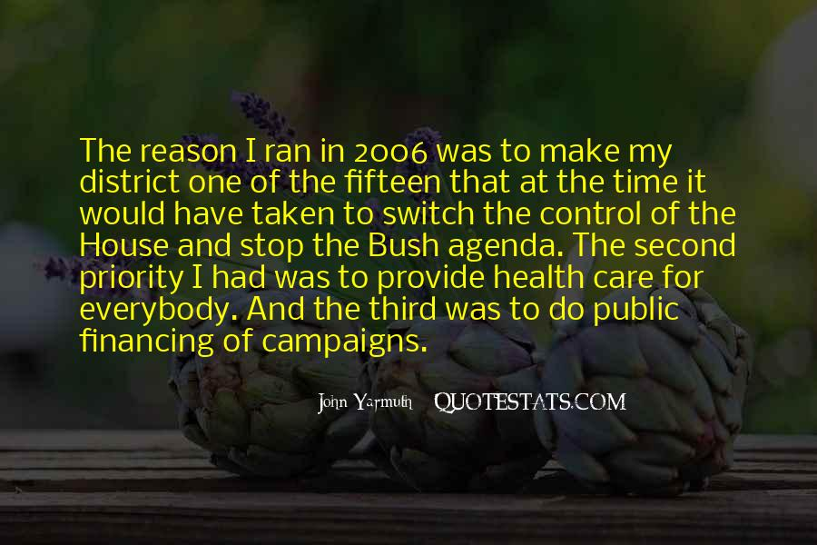 John Yarmuth Quotes #644937