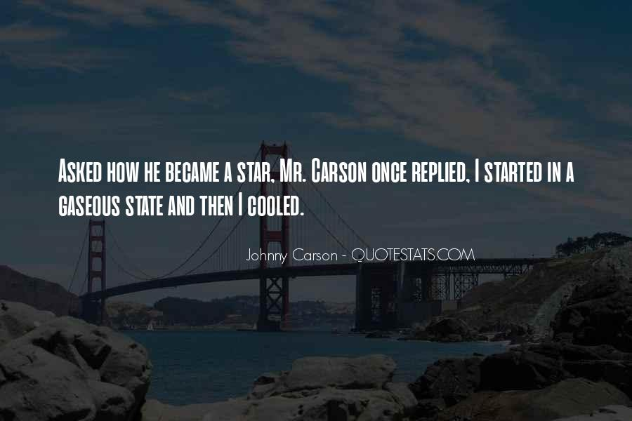 Johnny Carson Quotes #1008259