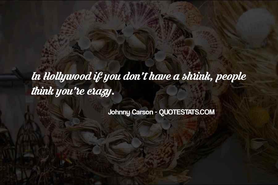Johnny Carson Quotes #1050595