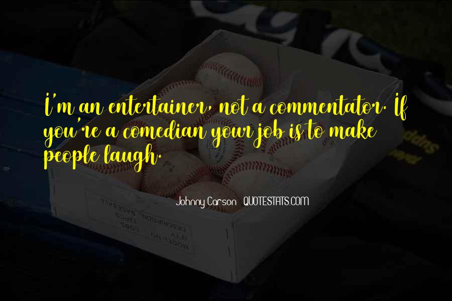 Johnny Carson Quotes #1161268