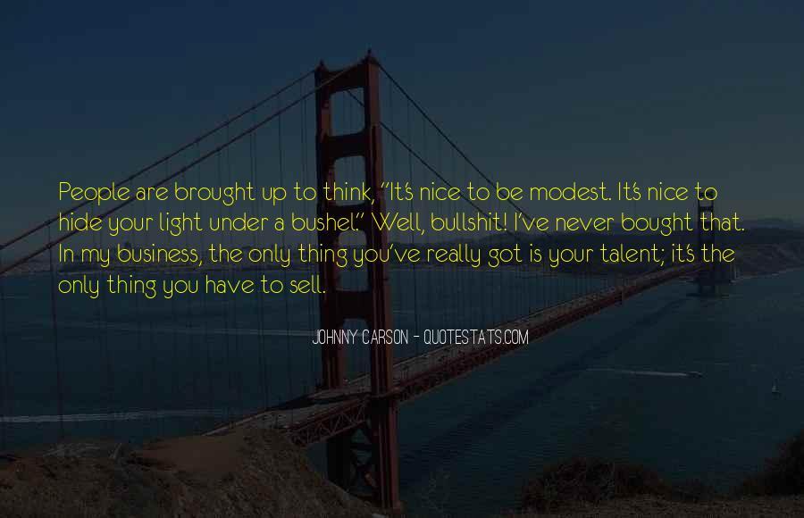 Johnny Carson Quotes #1166340