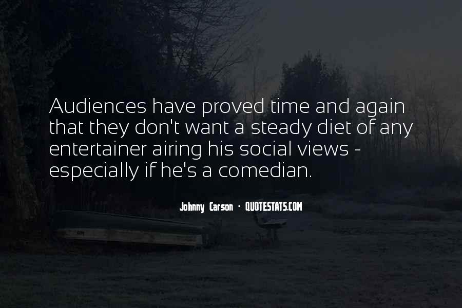 Johnny Carson Quotes #1309861