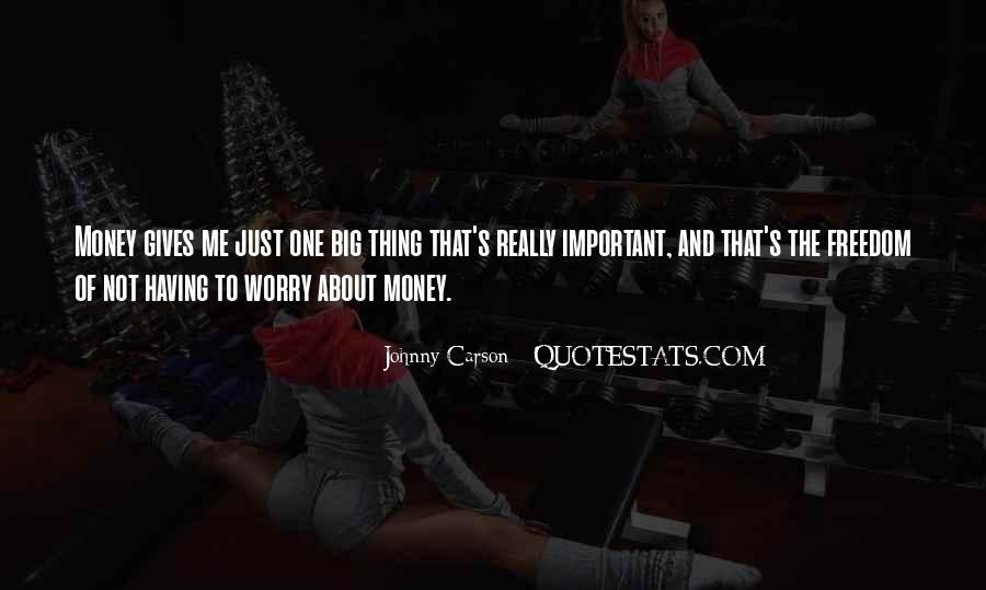 Johnny Carson Quotes #1446667
