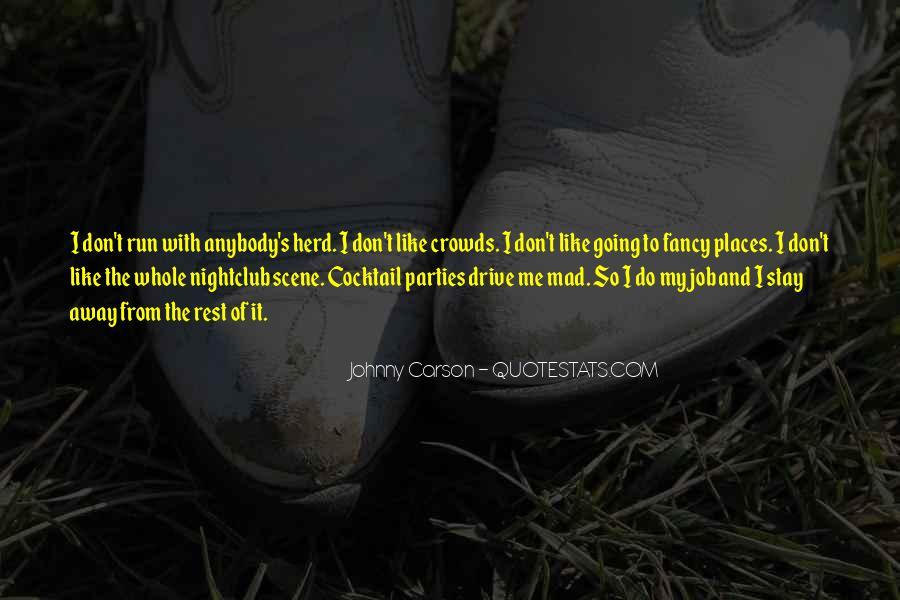 Johnny Carson Quotes #154966
