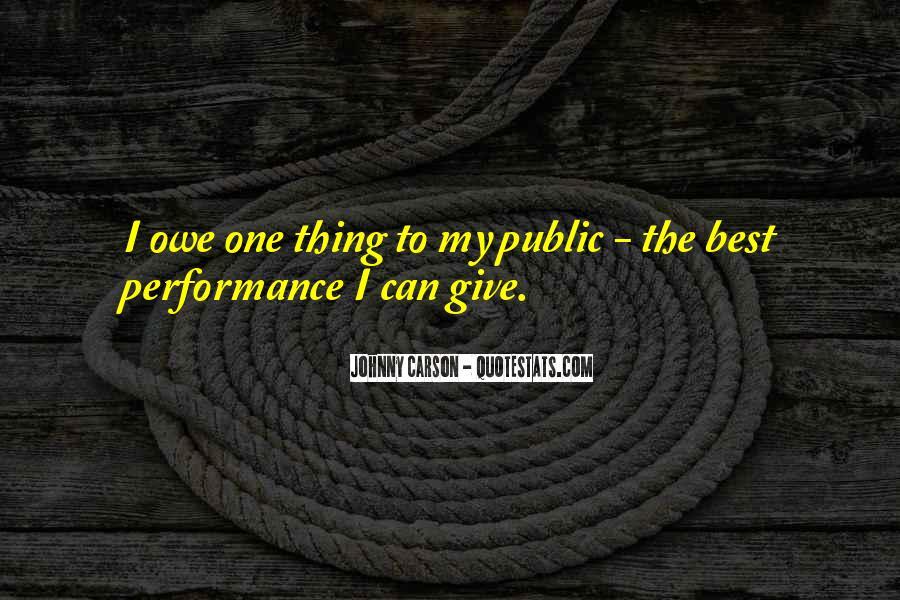 Johnny Carson Quotes #158922