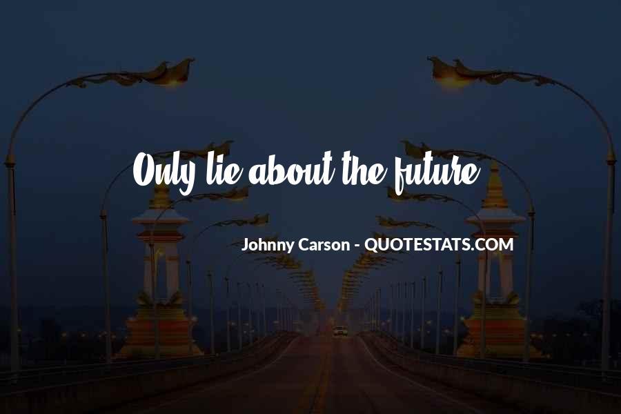 Johnny Carson Quotes #163759