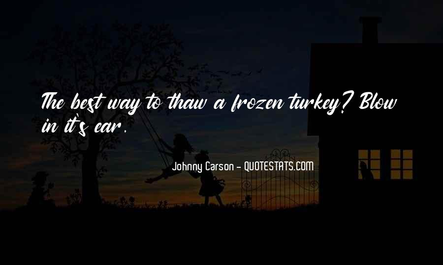 Johnny Carson Quotes #1644741