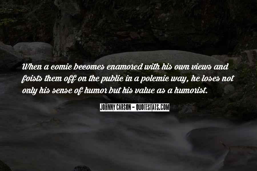 Johnny Carson Quotes #1755979