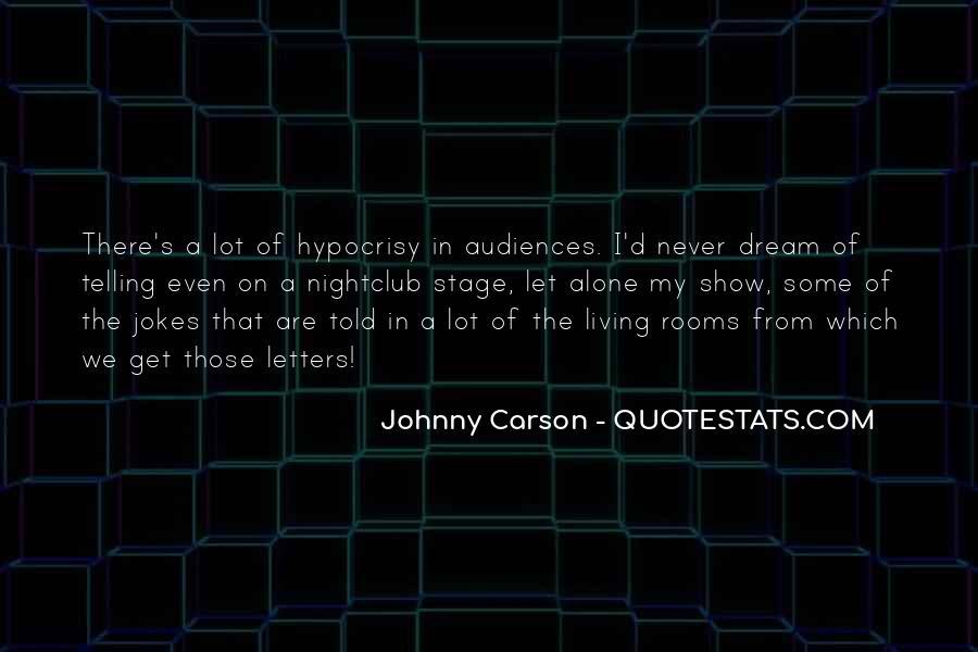 Johnny Carson Quotes #1839963