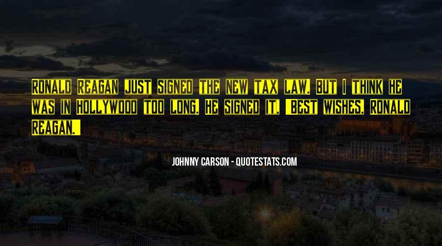 Johnny Carson Quotes #1865464