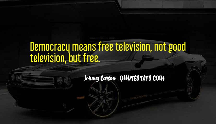 Johnny Carson Quotes #260996