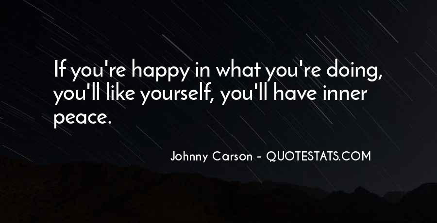 Johnny Carson Quotes #30803
