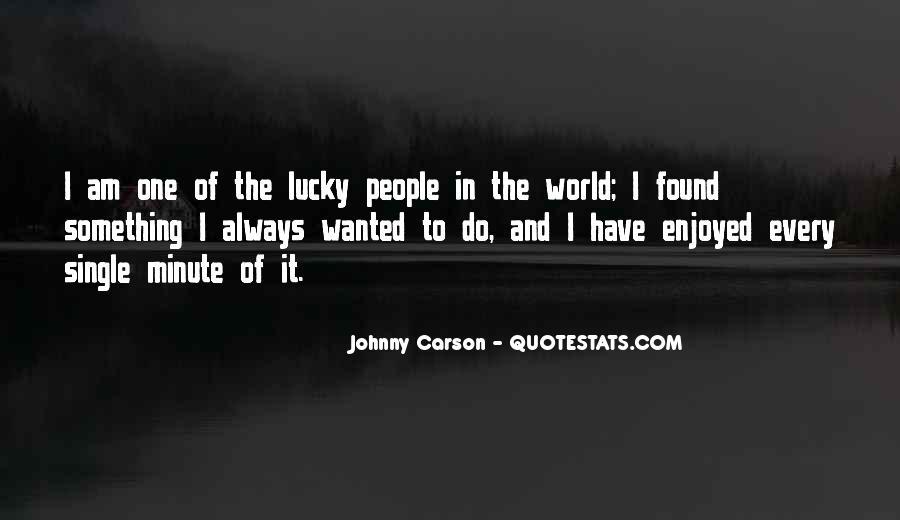 Johnny Carson Quotes #349289