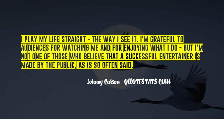 Johnny Carson Quotes #376038