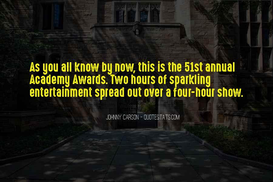 Johnny Carson Quotes #392776
