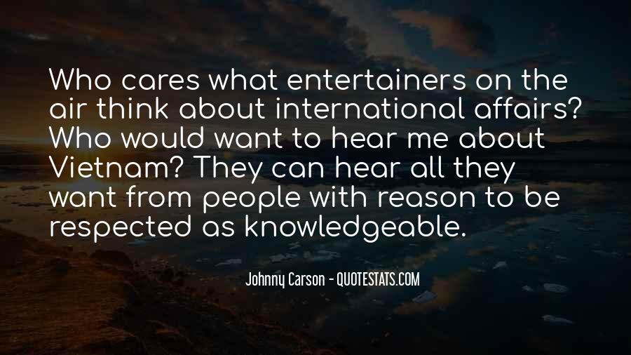 Johnny Carson Quotes #419773