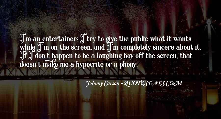 Johnny Carson Quotes #480283