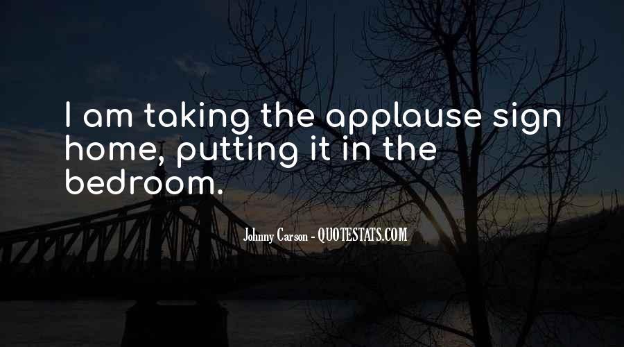 Johnny Carson Quotes #694419