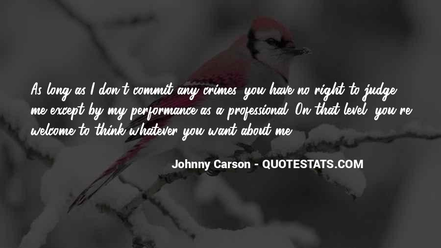 Johnny Carson Quotes #712233