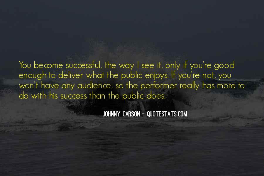 Johnny Carson Quotes #76090