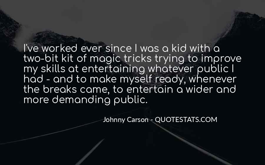 Johnny Carson Quotes #774627