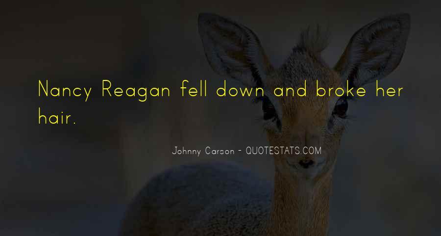 Johnny Carson Quotes #911716