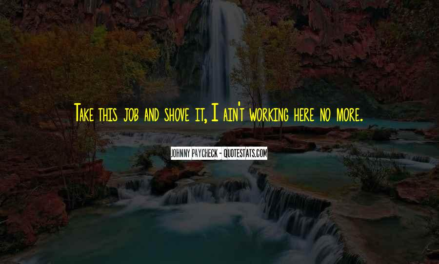 Johnny Paycheck Quotes #1243609