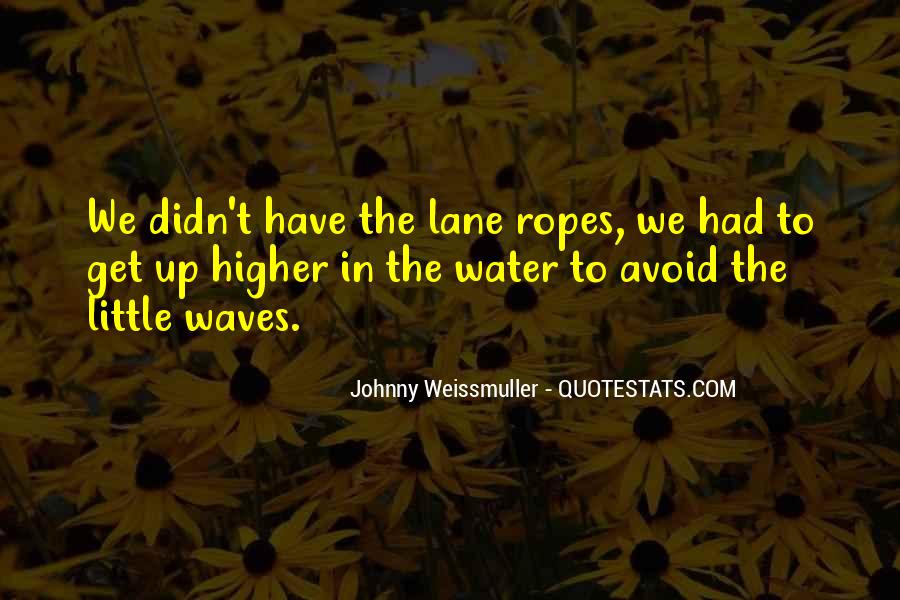Johnny Weissmuller Quotes #1039346