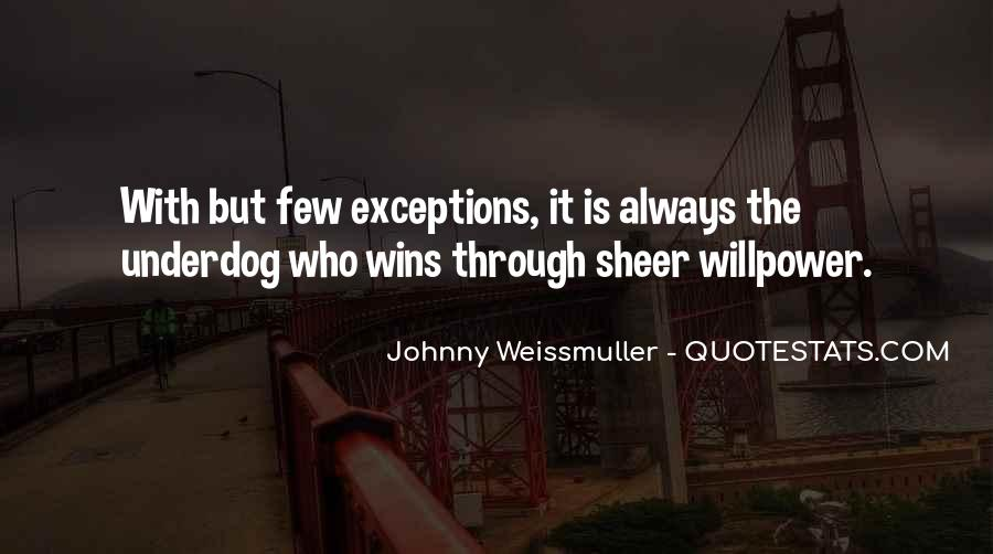 Johnny Weissmuller Quotes #1229543