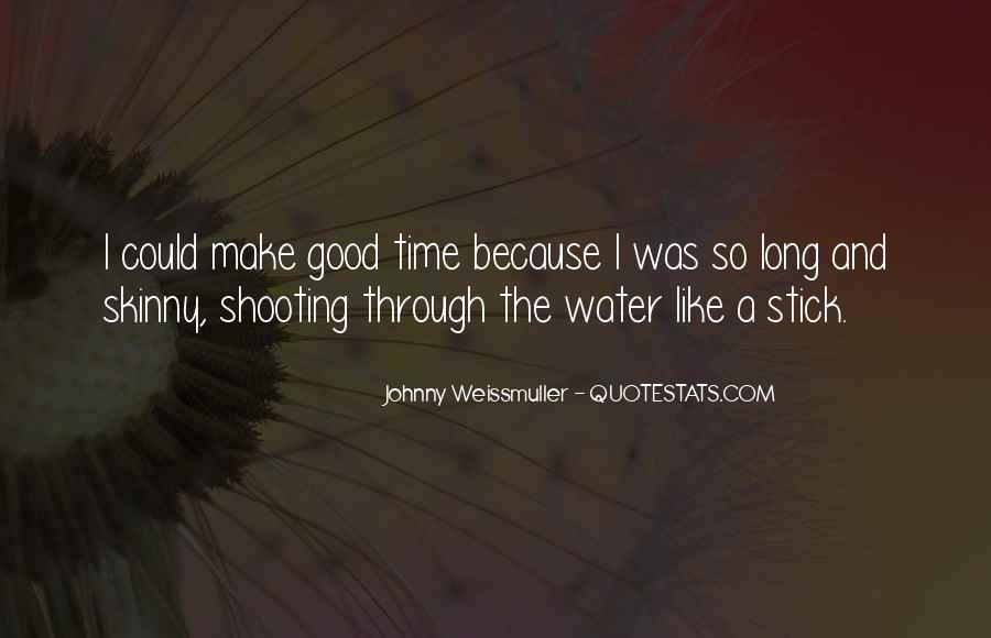 Johnny Weissmuller Quotes #216783