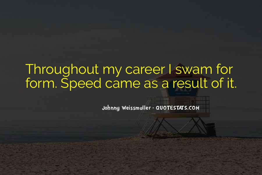 Johnny Weissmuller Quotes #519374