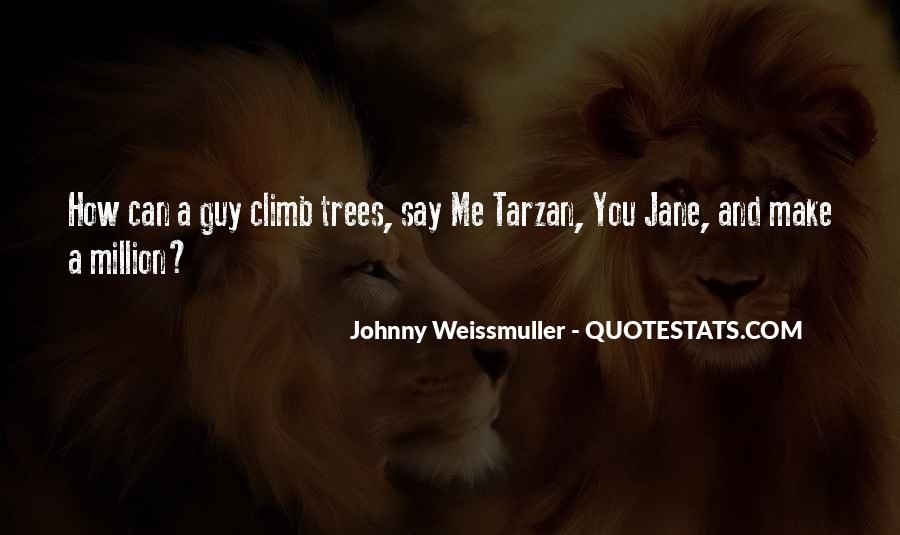 Johnny Weissmuller Quotes #967745
