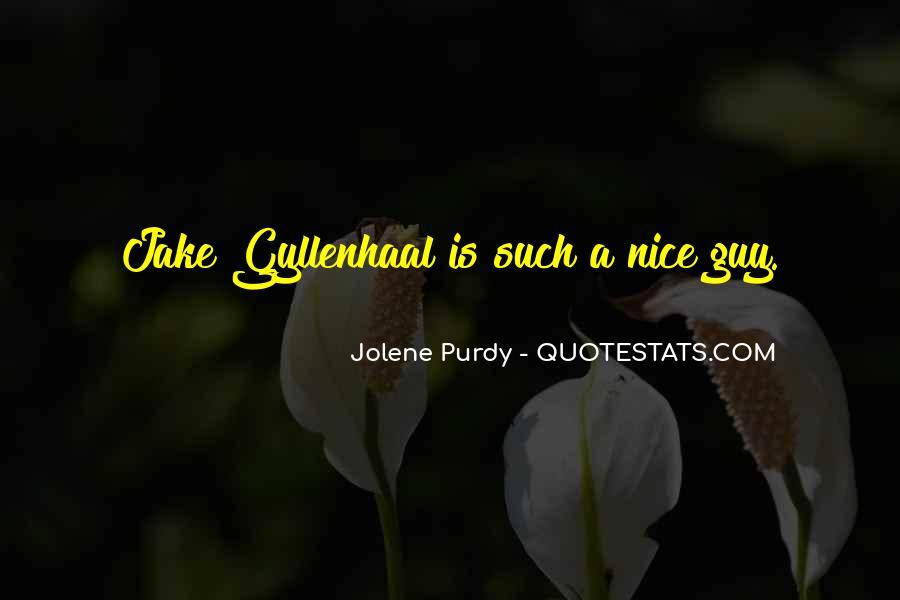 Jolene Purdy Quotes #453862