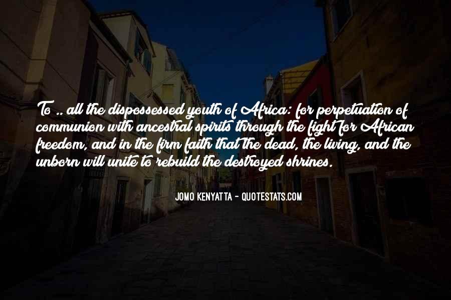 Jomo Kenyatta Quotes #1001477