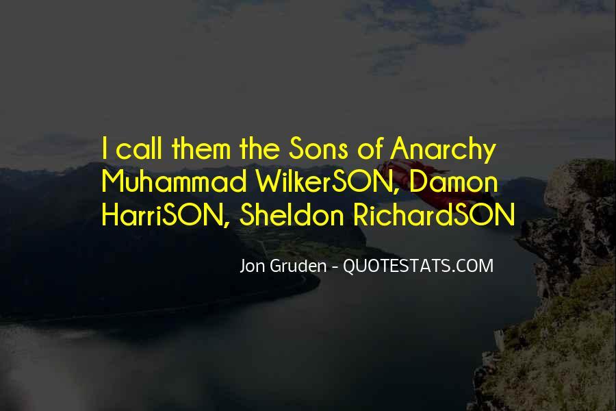 Jon Gruden Quotes #330824