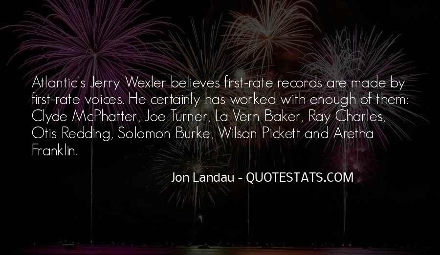 Jon Landau Quotes #1142215