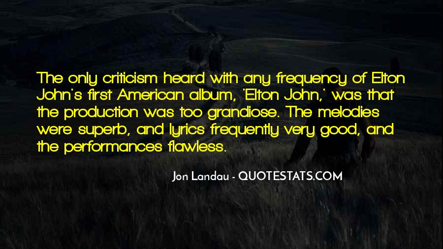 Jon Landau Quotes #365796
