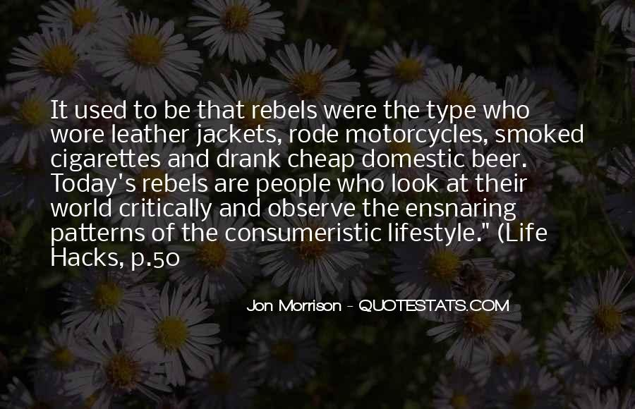 Jon Morrison Quotes #1081148