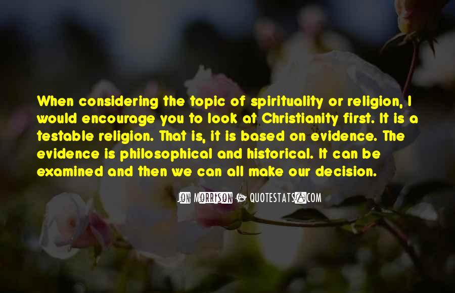 Jon Morrison Quotes #1411249